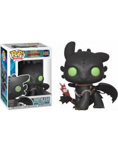 Pop Toothless. How to Train your Dragon 3