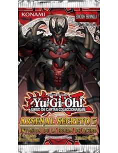 Yu-Gi-Oh! Arsenal Secreto 5. Booster Pack