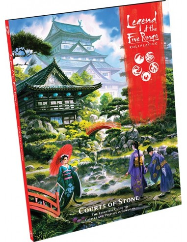 Legend of the Five Rings: Roleplaying. Courts of Stone