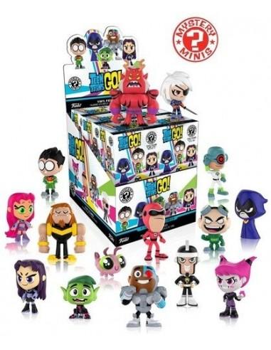 Mistery minis Teen Titans Go!. DC Comics