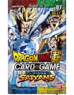 Dragon Ball Super TCG: Assault of the Saiyans. booster (12)