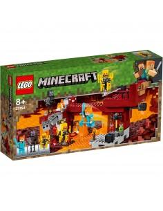Lego. El Puente del Blaze. Minecraft