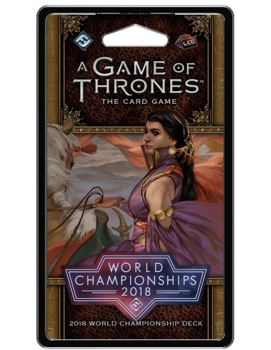 Agot 2.0 Lcg: Martell. World Chanpionships 2018