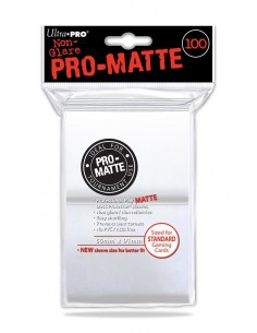 Sleeve Pro Matte White 100. (66x91 mm)