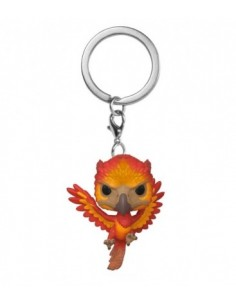 Pop Keychain Fawkes. Harry Potter