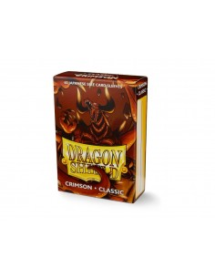 Dragon Shield Sleeves (59x86mm) - Crimson Classic