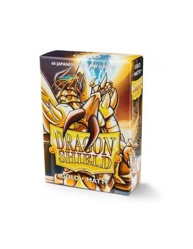 Fundas Dragon Shield (59x86mm) - Oro Mate (60)