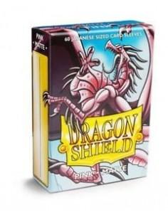Dragon Shield Sleeves (59x86mm) - Pink Matte (60)