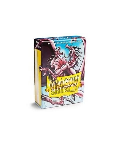 Fundas Dragon Shield Tamaño Yu-Gi-Oh! (59x86mm) - Rosa Mate (60)