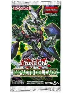 Yu-Gi-Oh! Impacto del Caos.  Booster