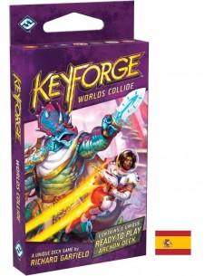 Keyforge. Worlds Collide. Arkonte deck Español