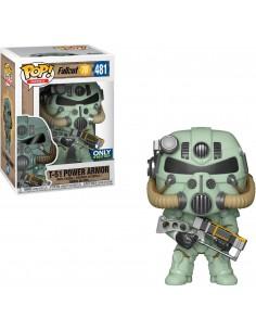 Pop T-51 Power Armor Green. Fallout 76