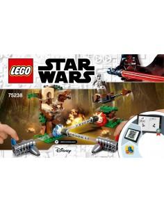 Lego Asalto a Endor. Star Wars