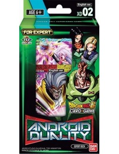 Dragon Ball Super Tcg: Android Duality. Expert Deck