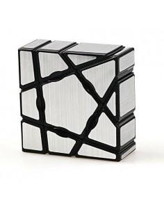 Moyu Ghost Cube Silver 3x3x1