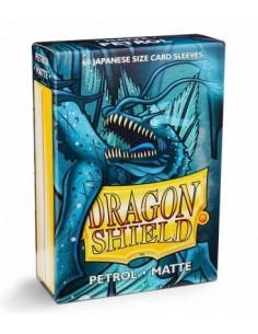Dragon Shield Sleeves (59x86mm) - Yellow Matte (60)