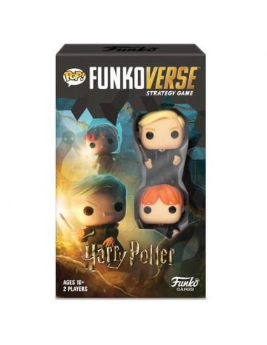 Juego de estrategia Pop Funkoverse Ron Weasley y Draco Malfoy. Funkoverse
