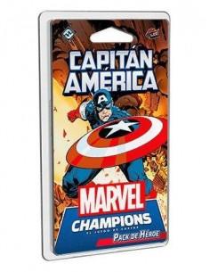 Capitán América Pack de Héroe. Marvel Champions.