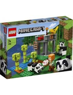 Lego. El Criadero de Pandas. Minecraft