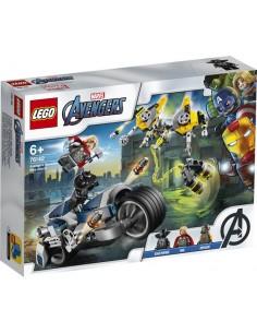 Lego.Vengadores Ataque en Moto. Vengadores