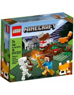 Lego. La Aventura en la Taiga. Minecraft