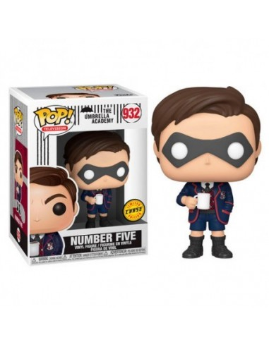 Pop Number Five. The Umbrella Academy Chase