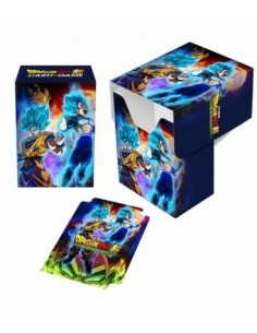 Deck Box Goku Vegeta. Dragon Ball Super