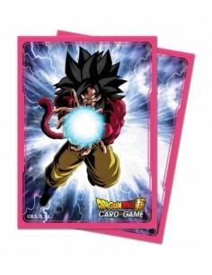 Fundas 66x91mm SS4 Son Goku. Dragon Ball Super