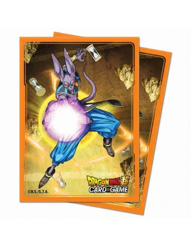 Fundas 66x91mm Beerus. Dragon Ball Super