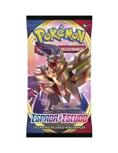 Pokemon Tcg: Sword and Shiel. Booster Pack