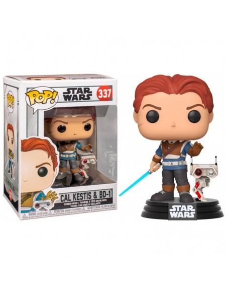 Pop Cal Kestis y BD-1. Star Wars Fallen Order