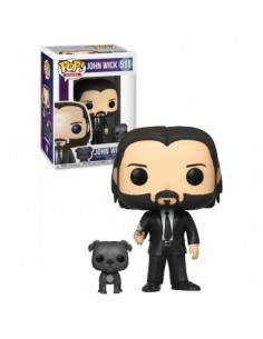 Pop John Wick With Dog