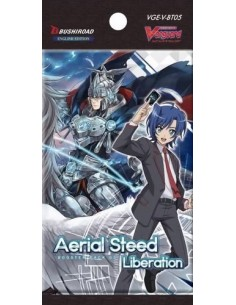 Cardfight Vanguard: Aerial Steed Liberation. Sobres