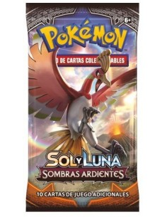 Pokemon TCG Sun & Moon. Burning Shadows: Booster (Spanish)