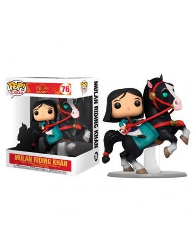 Pop Mulan montando a Khan