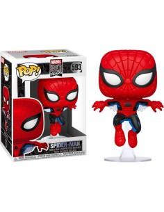 Pop Spider-man. Primera aparición. Marvel