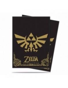Ultra Pro Fundas Standard Triforce (65). Zelda
