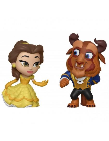 Belle and Beast Figures. Rmane Series. Vynil