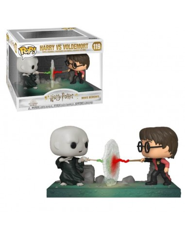 Pop Moment. Harry Potter Vs Voldemort.