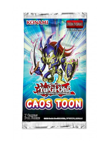 Yu-Gi-Oh! Chaos Toon. Booster pack...