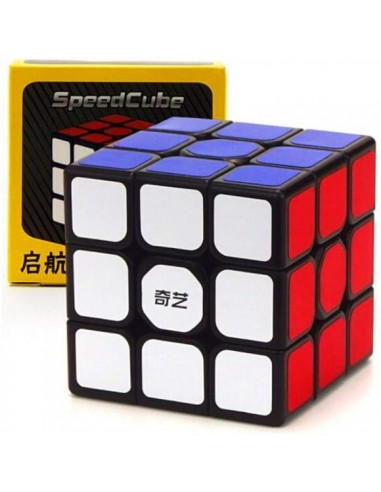 3x3x3 Base Negra. Qiyi QiHang