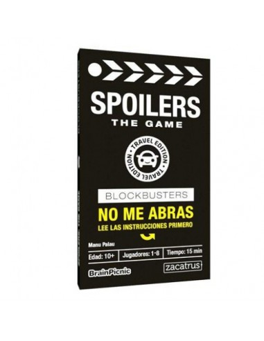 Spoilers. Travel Edition