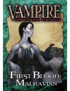 Vampiro. First Blood: Malkavian