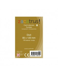 Fundas Zacatrus Dixit (80x120mm) (100)