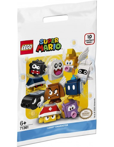 Boster pack characters of Mario