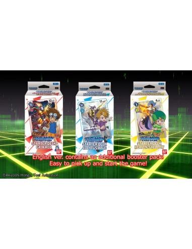 PREORDER Digimon 3 Starter Decks...
