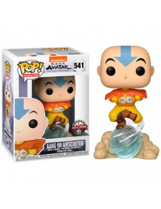 Aang on Air Bubble. Avatar