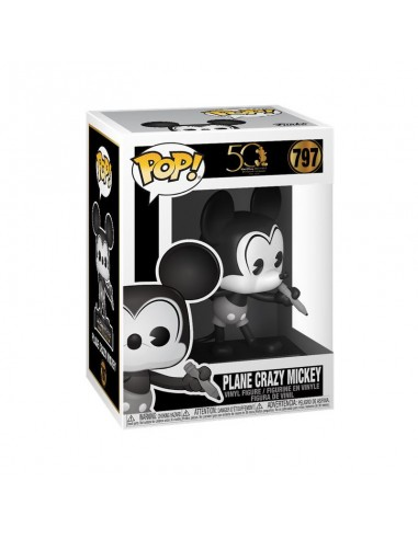 Pop Mickey. Blanco y Negro