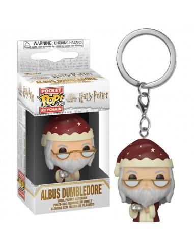 Llavero Pop Dumbledore Navideño....