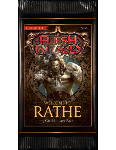 Flesh and Blood Booster Pack (15 Cards)